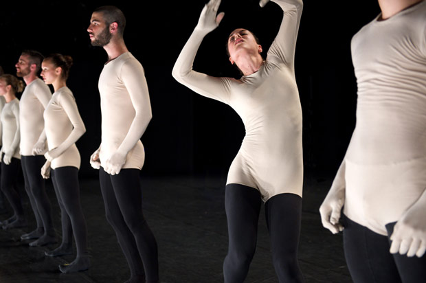 Batsheva Ensemble in <I>Deca Dance</I>.<br />© Chris Nash. (Click image for larger version)