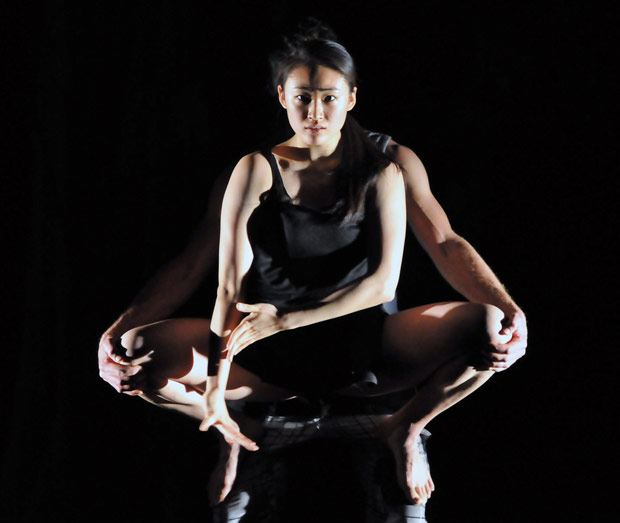 Kai-Wen Chuang (supported by Luke Burrough) in <I>FREEDOM</I>.<br />© Dave Morgan. (Click image for larger version)