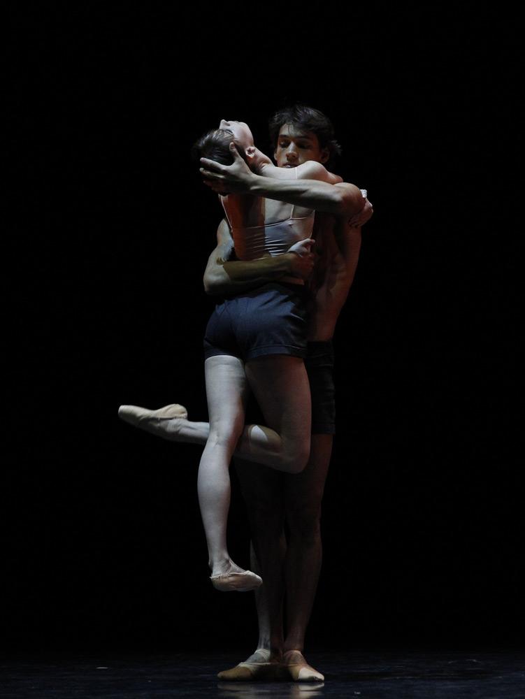 Elisa Badenes and Daniel Camargo in <I>Little Monsters</I>.<br />© Jeff Busby. (Click image for larger version)