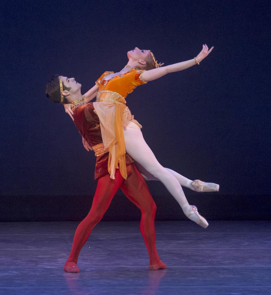 Rudy Candia and Alexsandra Meijer in <I>Meditation from Thais</I>.<br />© Robert Shomler. (Click image for larger version)