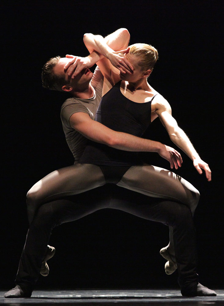 Baltic Dance Theater in Jiri Kylian's <I>No More Play</I>.<br />© Sebastian Cwikla. (Click image for larger version)