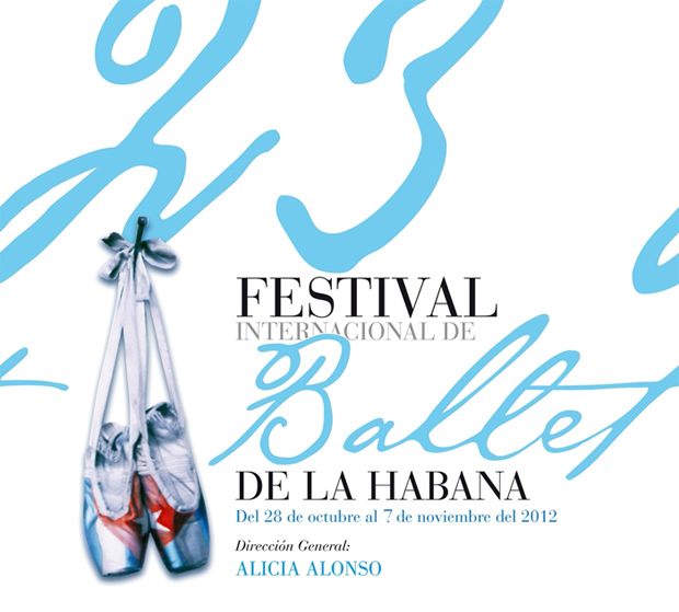 Poster image for the 2012 festival. © Festival Internacional de Ballet de La Habana 2012.  (Click image for larger version)