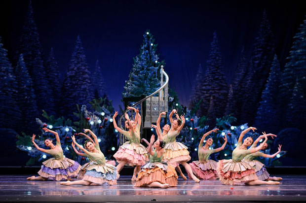 HKB in the Waltz of the Flowers from The Nutcracker.© Conrad Dy-Liacco. (Click image for larger version)