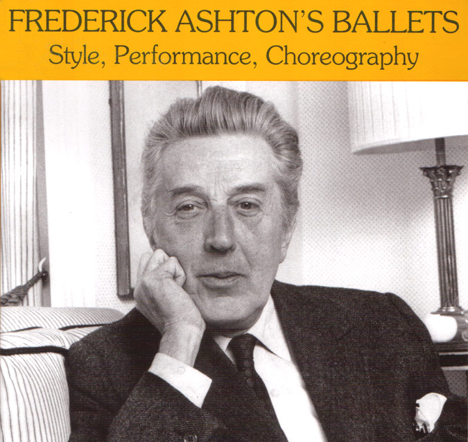part of the <I>Frederick Ashton's Ballets</I> book cover.<br />© Dance Books. (Click image for full version)