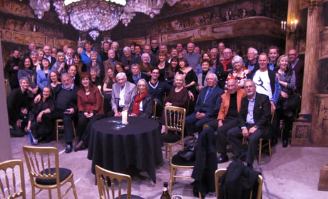 The Peter Darrell anniversary party - held in the scenery store at Scottish Ballet.© Euan Petrie. (Click image for larger version)