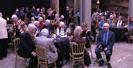 The Peter Darrell anniversary party - held in the scenery store at Scottish Ballet.<br />© Euan Petrie. (Click image for larger version)