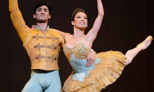 Frances Chung and Davit Karapetyan in Nutcracker.© Erik Tomasson. (Click image for larger version)