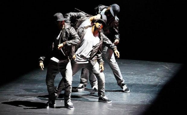 Boy Blue Entertainment perform <I>Krump-Buck-Amp</I>.<br />© Jonnie Malachi.