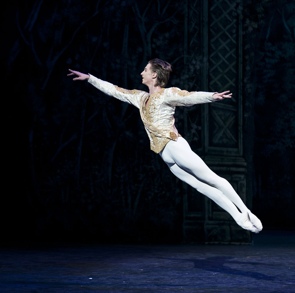 Vadim Muntagirov in <I>The Nutcracker</I>.<br />© Patrick Baldwin. (Click image for larger version)