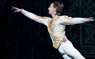 Vadim Muntagirov in The Nutcracker.© Patrick Baldwin. (Click image for larger version)