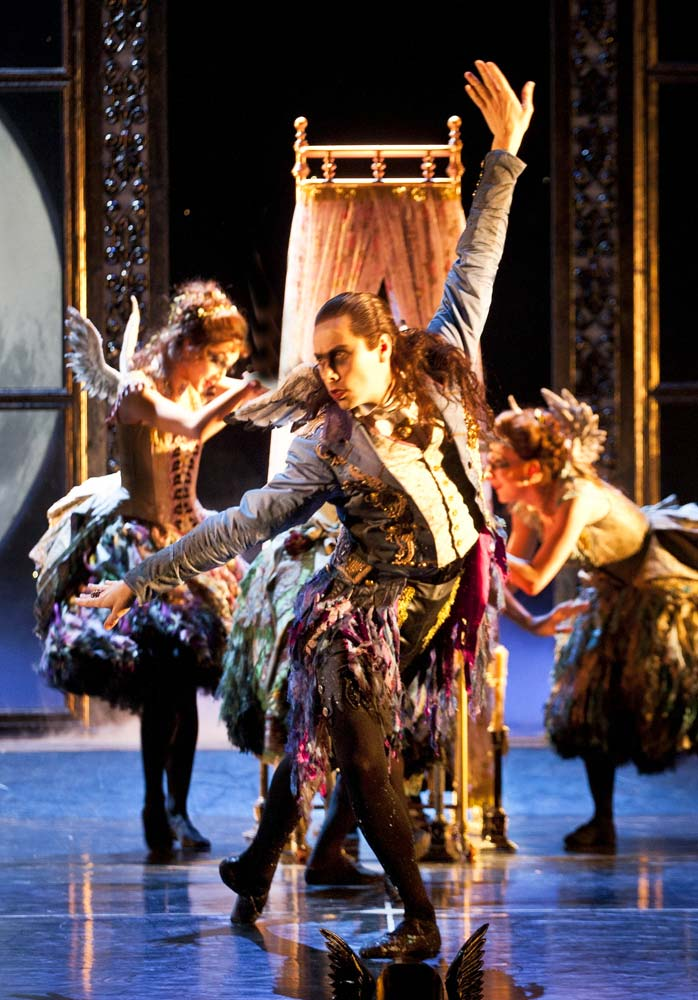 Christopher Marney as Count Lilac in Matthew Bourne's Sleeping Beauty.© Simon Annand. (Click image for larger version)