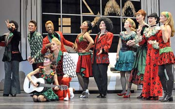 Mark Morris Dance Group perform The Hard Nut.© Stephanie Berger. (Click image for larger version)