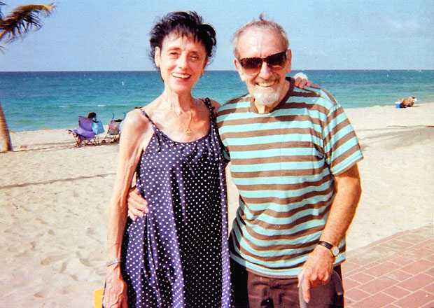 Valerie and Clive Barnes.<br />© Valerie Taylor-Barnes.
