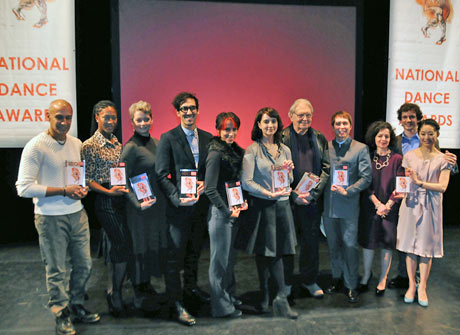2012 National Dance Awards - the winners.© Dave Morgan. (Click image for larger version)
