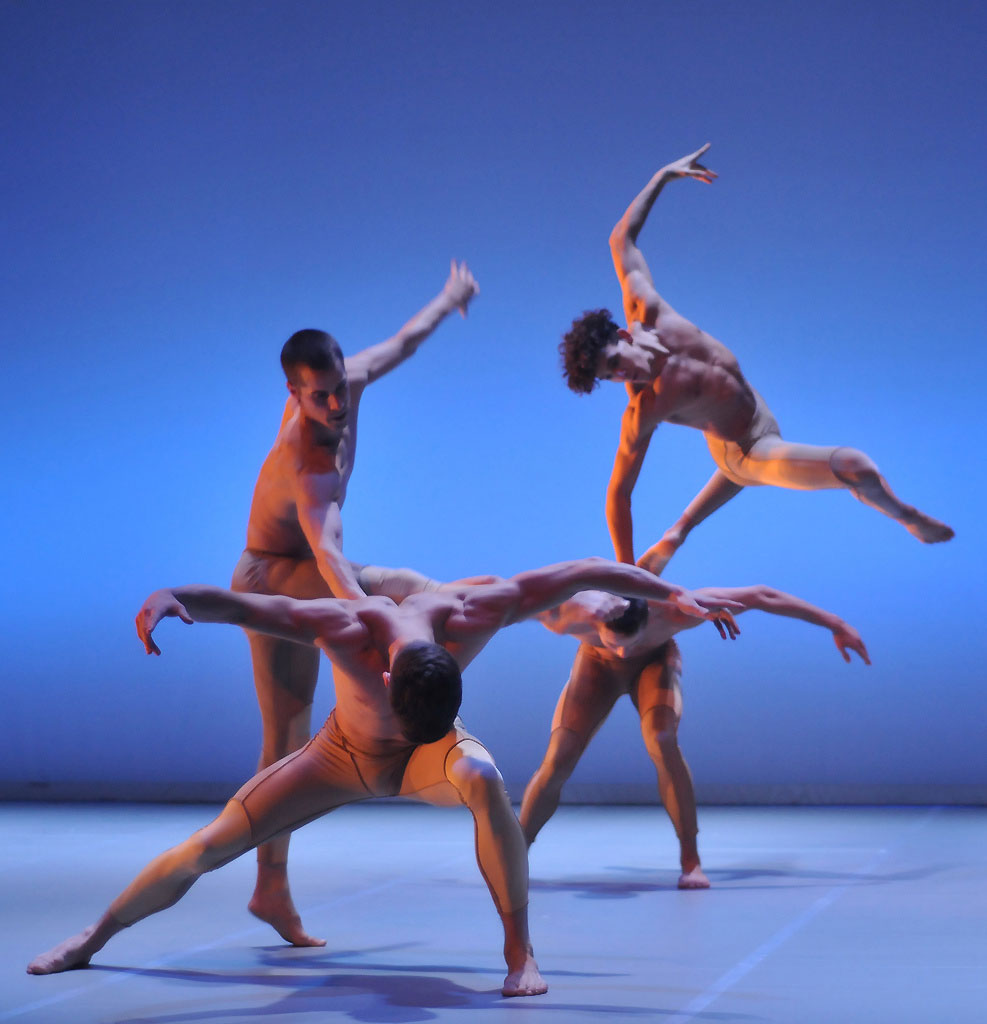 BalletBoyz The Talent 2013 perform Liam Scarlett's <I>Serpent</I>.<br />© Dave Morgan. (Click image for larger version)