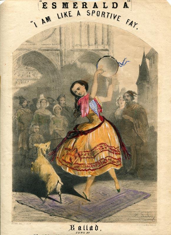 Esmeralda poster.<br />© Courtesy of the Derra de Moroda Dance Archives, Salzburg.