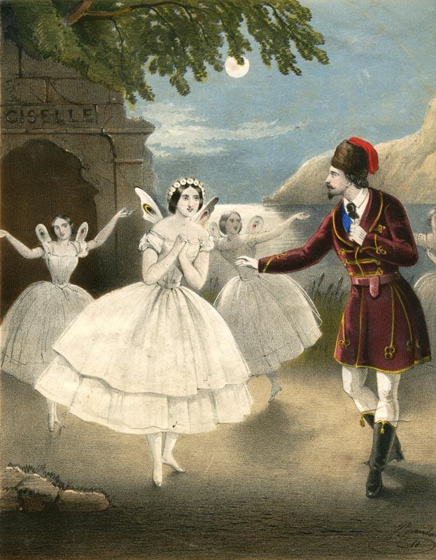Giselle poster.<br />© Courtesy of the Derra de Moroda Dance Archives, Salzburg.