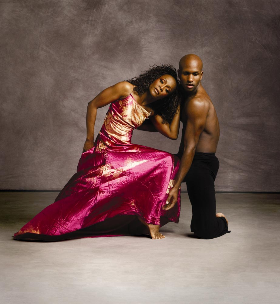 Renee Robinson and Glenn Allen Sims in publicity image for the 2007-2008 Season.<br />© Andrew Eccles. (Click image for larger version)