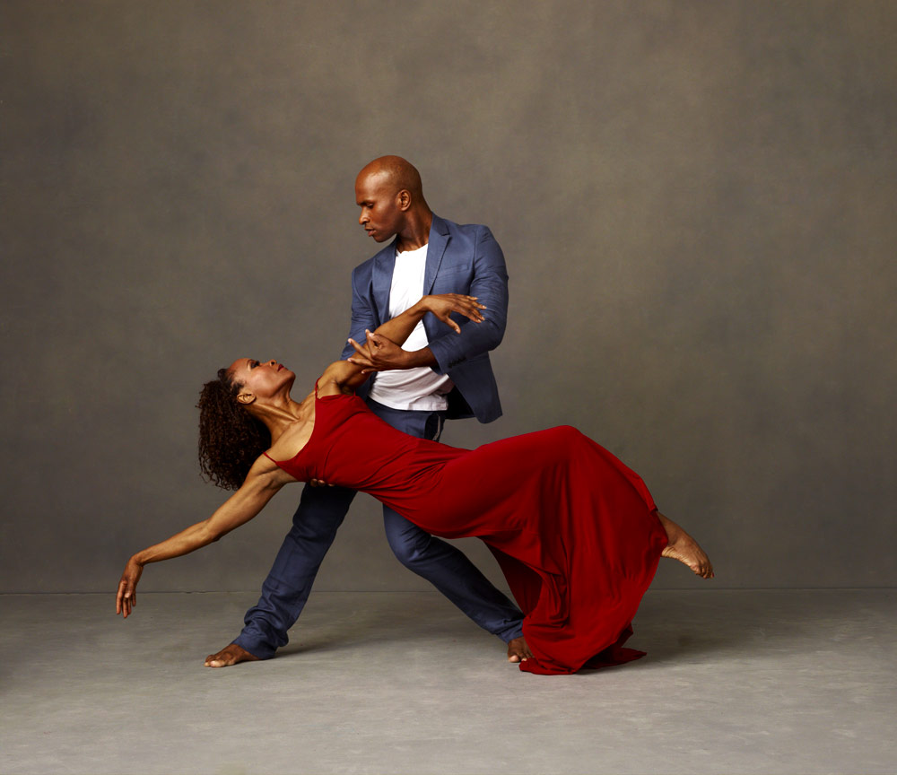 Renee Robinson and Glenn Allen Sims.<br />© Andrew Eccles. (Click image for larger version)
