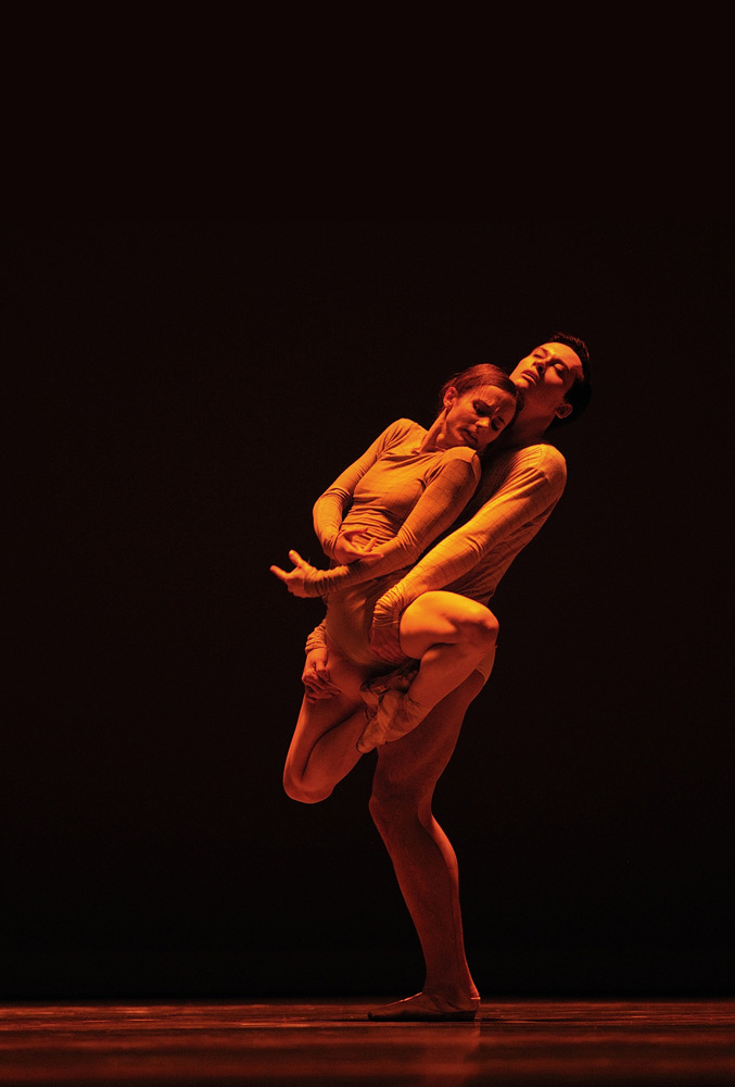 Maria Kochetkova and Lonnie Weeks in McGregor's Borderlands.© Erik Tomasson. (Click image for larger version)