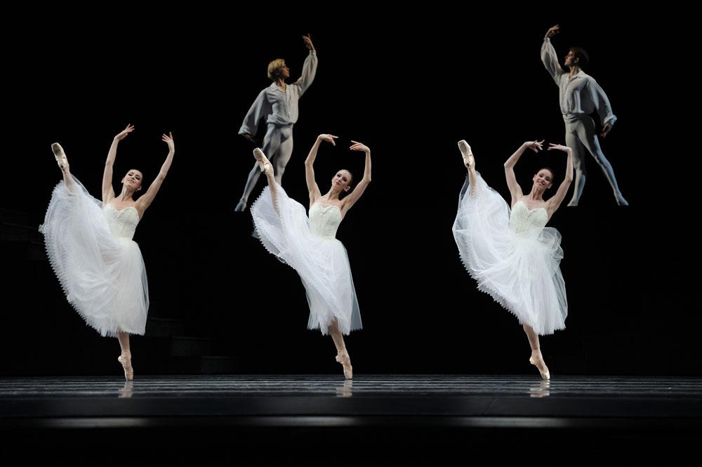 San Francisco Ballet in Lifar's <I>Suite en Blanc</I>.<br />© Erik Tomasson. (Click image for larger version)