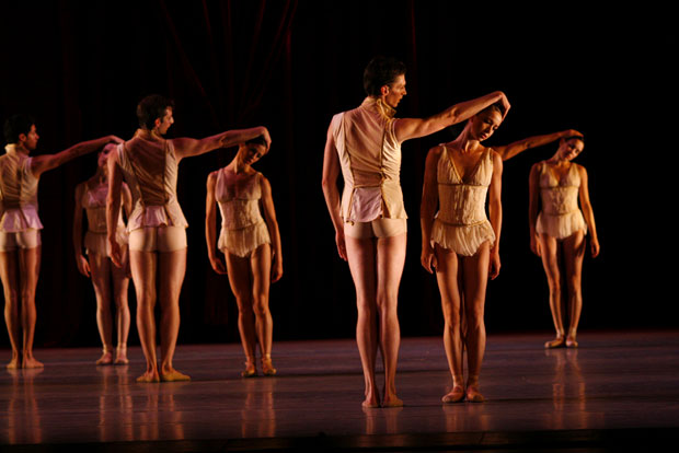 The Joffrey Ballet in <I>Age of Innocence</I>.<br />© Herbert Migdoll. (Click image for larger version)