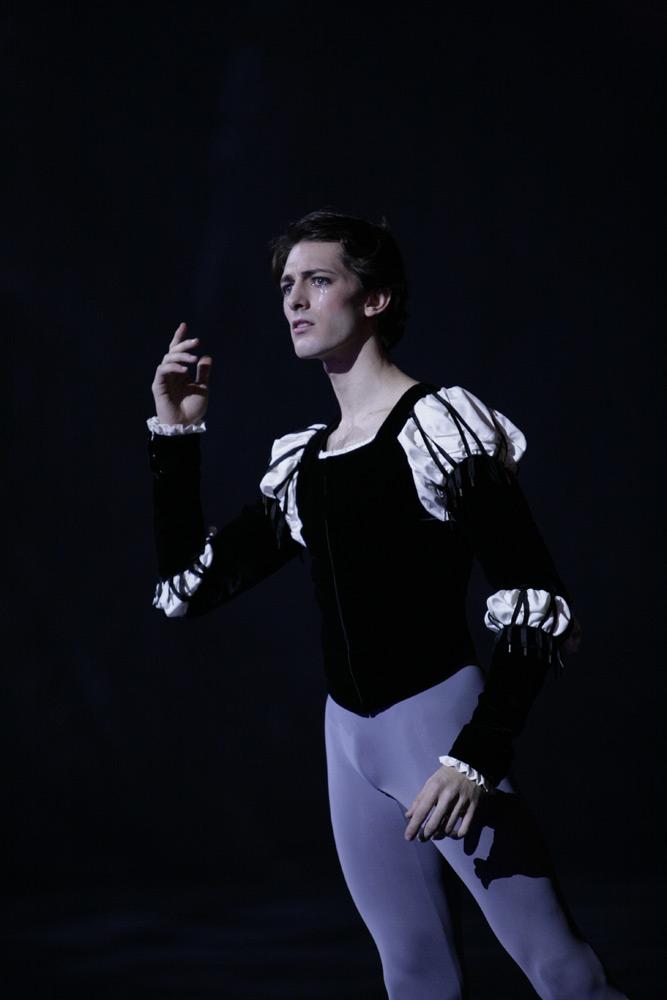 Mathieu Ganio in <I>Giselle</I>.<br />© Sebastien Mathe. (Click image for larger version)