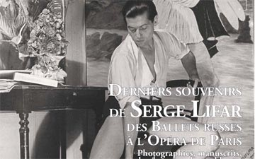 Serge Lifar auction flyer.© Arts Talents Enchères. (Click image for larger version)