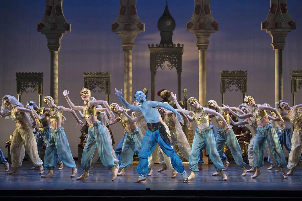 Birmingham Royal Ballet in <I>Aladdin</I>.<br />© Bill Cooper. (Click image for larger version)