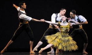 San Francisco Ballet in Ratmansky's From Foreign Lands.© Erik Tomasson. (Click image for larger version)