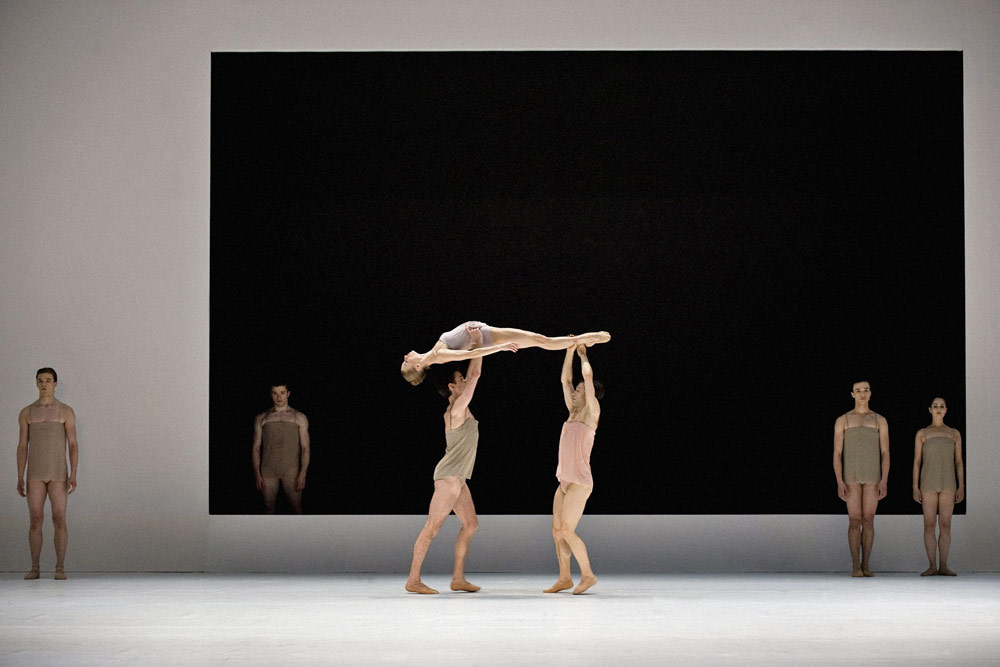 Royal Danish Ballet in Wayne McGregor's <I>Chroma</I>.<br />© Henrik Stenberg. (Click image for larger version)