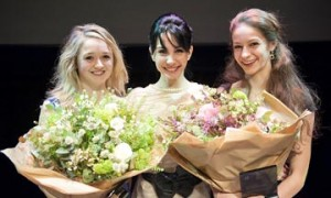 Nancy Osbaldeston, Tamara Rojo and Laurretta Summerscales.© Patrick Baldwin. (Click image for larger version)