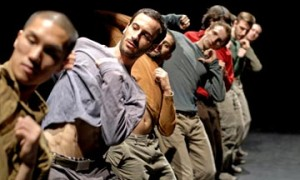 Hofesh Shechter Company in Uprising.© Andrew Lang, 2007. (Click image for larger version)