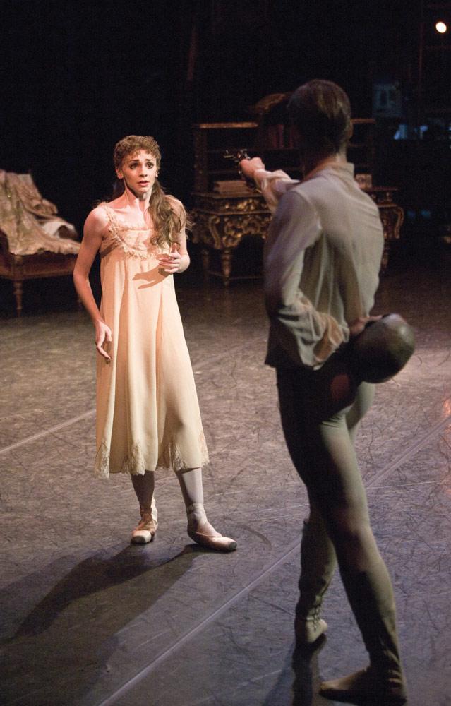 """Elizabeth Harrod and Rupert Pennefather.<br />© Andrej Uspenski. (Click image for larger version)<br />Taken from: DANCERS: Behind the Scenes with the Royal Ballet by Andrej Uspenski.<br />Published by Oberon Books: <a href=""""http://www.oberonbooks.com"""">www.oberonbooks.com</a>"""