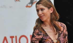 Leanne Benjamin at the 2009 National Dance Awards where she won Best Female Dancer.© Dave Morgan. (Click image for larger version)