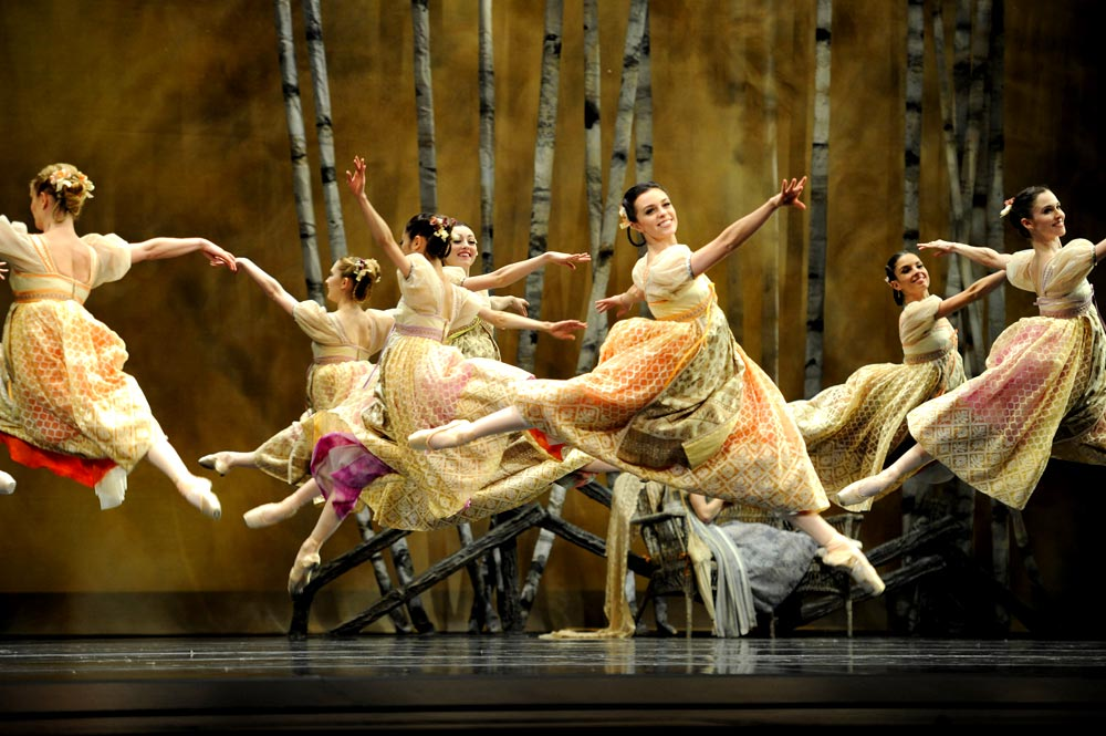 San Francisco Ballet in Cranko's <I>Onegin</I>.<br />© Erik Tomasson. (Click image for larger version)