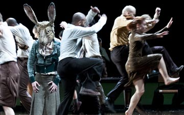 Fabulous Beast Dance Theatre in The Rite of Spring.© Foteini Christofilopoulou. (Click image for larger version)