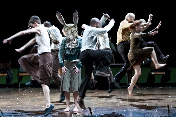 Fabulous Beast Dance Theatre in <I>The Rite of Spring</I>.<br />© Foteini Christofilopoulou. (Click image for larger version)