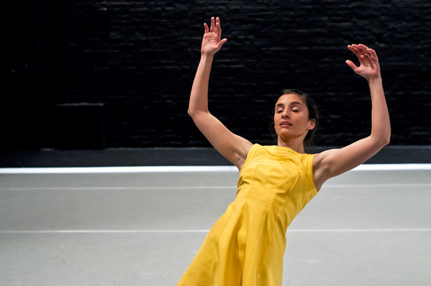 Martha Pasakopoulou in Eva Recacha's <I>The Wishing Well</I>.<br />© Foteini Christofilopoulou. (Click image for larger version)