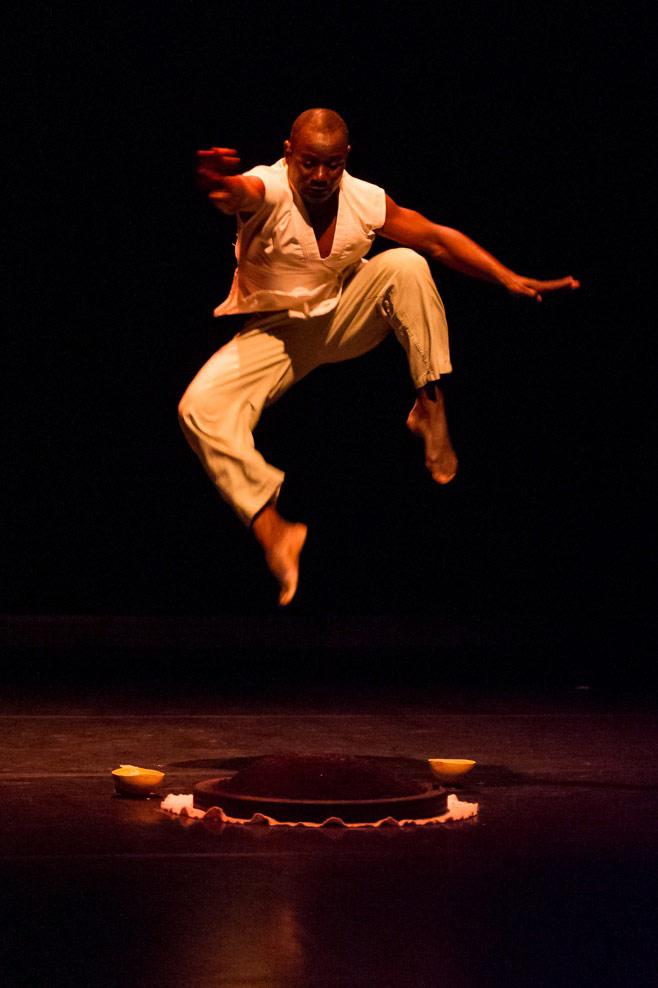 Souleymane Badolo in Buudou, Badoo, Badolo.© Ian Douglas. (Click image for larger version)