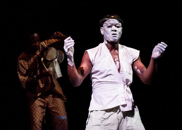 Souleymane Badolo in <I>Buudou, Badoo, Badolo</I>.<br />© Ian Douglas. (Click image for larger version)