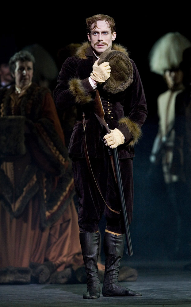 Edward Watson as Crown Prince Rudolf in The Royal Ballet's Mayerling.© Johan Persson. (Click image for larger version)