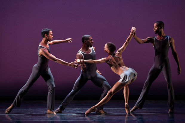 Dance Theatre of Harlem in <I>Return</I>.<br />© Matthew Murphy. (Click image for larger version)