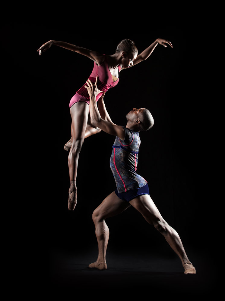 Ashley Murphy and Davon Doane in Far But Close.© Rachel Neville. (Click image for larger version)