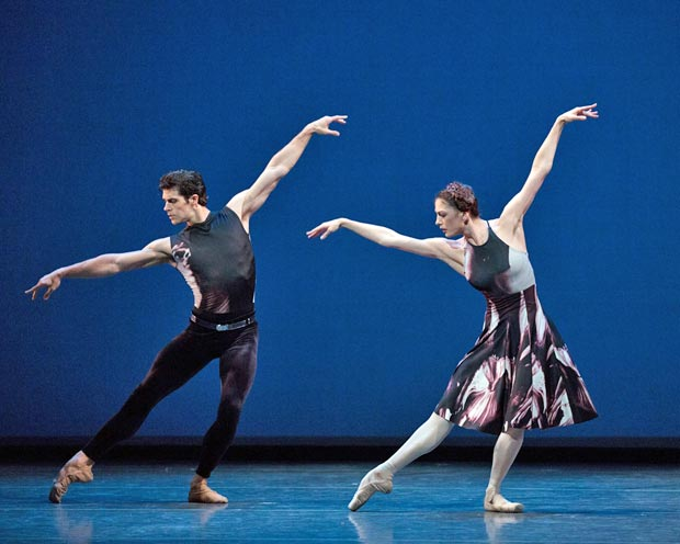 Veronika Part and Roberto Bolle in <I>Symphony #9</I>.<br />© Rosalie O'Connor. (Click image for larger version)
