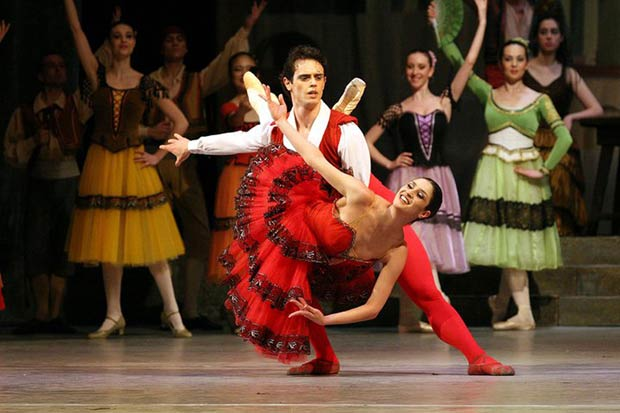 Sofia National Ballet in <I>Don Quixote</I>.<br />© Sofia National Ballet. (Click image for larger version)