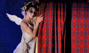 Sophie Martin as the Sylph in Highland Fling.© Andy Ross. (Click image for larger version)