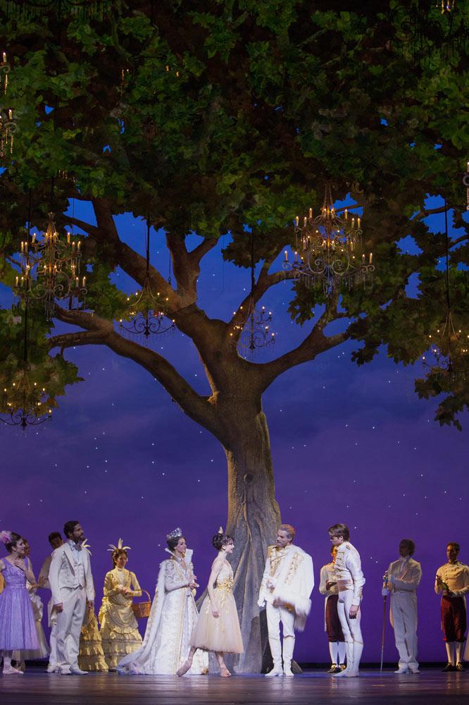 The Dutch National Ballet in Wheeldon's <I>Cinderella</I>.<br />© Angela Sterling. (Click image for larger version)