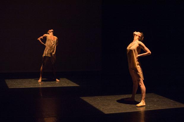 Araminta Wraith & Shevelle Dynott in Tamarin Stott's <I>Work in Progress</I>.<br />© Arnaud Stephenson. (Click image for larger version)