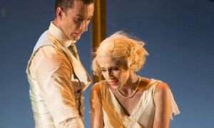 Tobias Batley (Jay Gatsby) and Martha Leebolt (Daisy Buchanan) in The Great Gatsby.© Bill Cooper. (Click image for larger version)